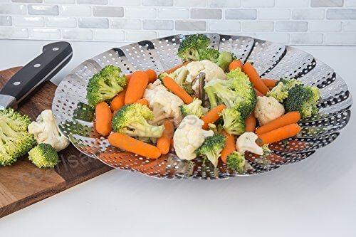 stainless steel vegetable steamers