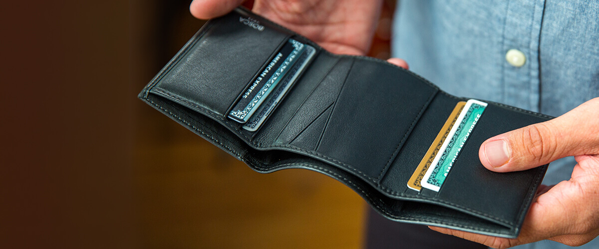 best mens trifold wallet