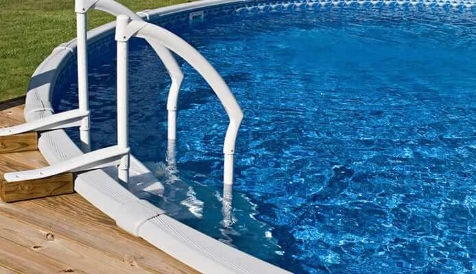 heavy duty pool ladder 400 lbs